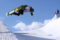 I love Snowboard by Mikhail Shapaev