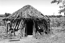 himba hut by james smit