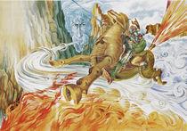 Clavileño the Swift by Juan Gallego