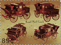 Royal Mail Coach - Video Game Art by Robert Orsulics