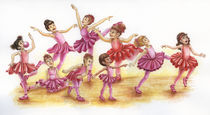 Ballet Dancers von Tanja Bauerle