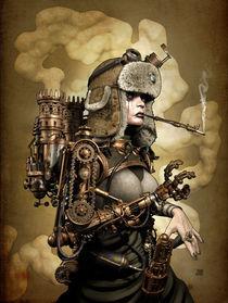 SteamGirl von Jef Wall