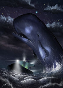 Moby Dick by Tony Andreas Rudolph