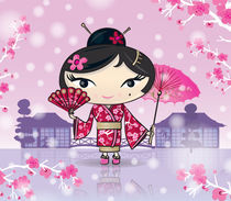 Sakura Girl von Flaming  Rhino