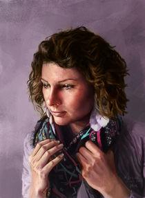 Karolina's portrait by Krzysztof Krygier