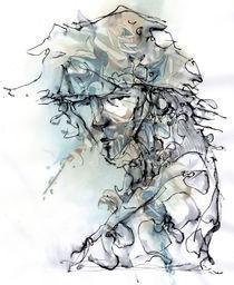 portrait au long cou by philippe vauchez