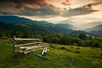 Sunset near Kamenka von Alex Gvozditskiy