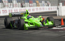 Danica Patrick Indy Car Race Series  von James Menges