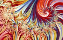 Singing blossom by Yvonne Fido
