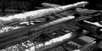 Snowy Fence by © CK Caldwell