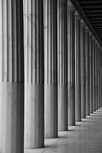 Athens Pillars by Jamie Wainwright