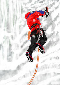 Ice Climber. von Phill Evans