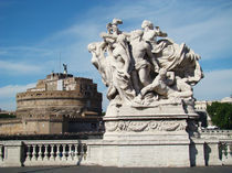 Rome - Castel SantAngelo von Luiz Felipe Matta
