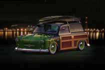 Trabant Custom Woody Wagon by Artur Borovik