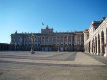 Madrid - Palacio Real von Luiz Felipe Matta