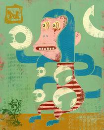 M is for Monkey von Roben Nieuwland