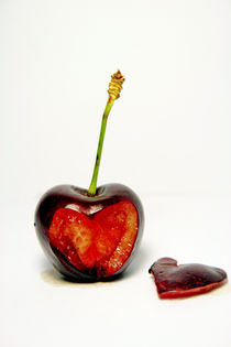 Cherry Heart by Manuela Russo