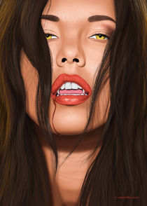 Vamp Lips by Fernando Ferreiro