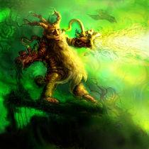 Shlyuka the Dwarf Druid by Nenad Pantic