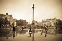 London. Trafalgar Square. Nelson's Column