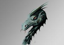 Akoron the Dragon von Orazio Giovanni Iaci
