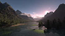 3D River Valley by Harshal Deorey