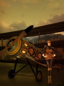 The Last Steampunk Flight von Emma Alvarez