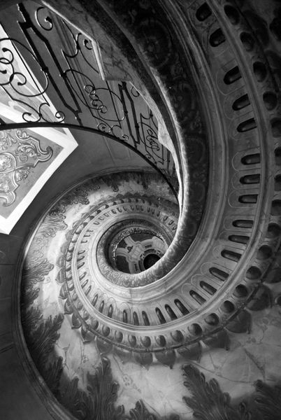 Winding-staircase