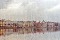 watercolour city von Ekaterina Samorukova