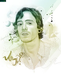 Brandon Boyd - Musicians Series by Rafael  C. Costa