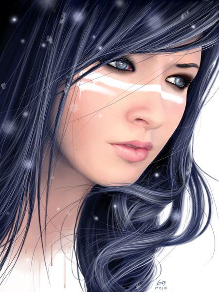 Frozen-beauty