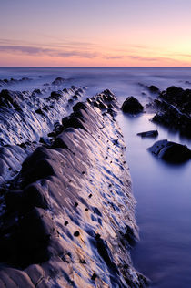 Dust at Welcombe Mouth, Devon, England. by Craig Joiner