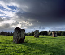 Stanton Drew Stone Circle, Somerset, England. by Craig Joiner