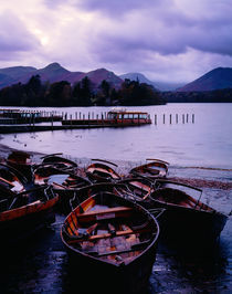 Derwent Water, Lake District, England. by Craig Joiner