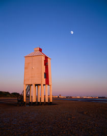 Burnham-on-Sea Lighthouse, England. by Craig Joiner