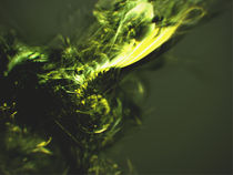 Abstract 3D cgi fractal by Lee Griggs
