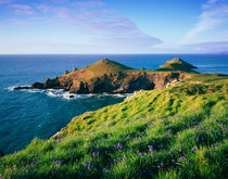 Rumps Point, North Cornwall, England. by Craig Joiner