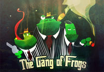 The Gang of Frogs by Carlos Roberto Morales Umaña