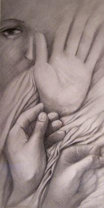 oeil et mains by NourYas Arts