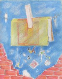 livre suspendu von NourYas Arts