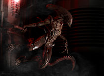 HD ALIEN BIOHAZARD ALERT by caleb-nefzen