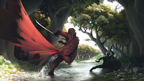 Rild and the Death God von mynd