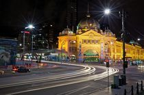 Flinders Street, Melbourne 2 by Mike Rudzinski