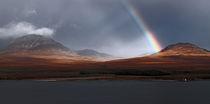 Rainbow over Isle of Jura by James Deane