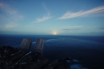 moonlit sea von Jacob Kolady