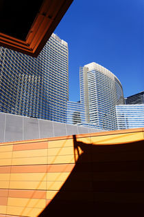 Architecture at City Center, Las Vegas. by Eye in Hand Gallery