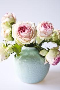 Rosen in Japanischer Vase von Oezen  Gider