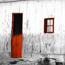 i see a red door... by james smit