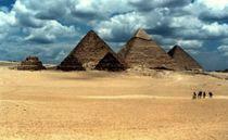 Pyramiden von Giseh von tinadefortunata