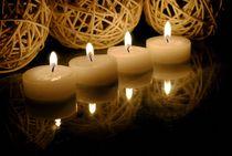 vier Kerzen von tinadefortunata